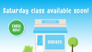 kumon subiaco perth saturdays